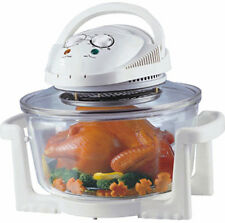 17L Convection Oven Air Fryer Roaster Halogen Flavor Infrared Wave BBQ Cooker