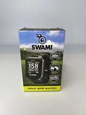 Swami Golf GPS Watch Model A44055 Izzo Golf, New In Box w/38k Preloaded Courses.