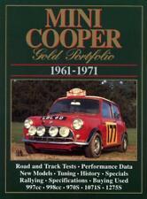 Mini Cooper Gold Portfolio 1961-1971 (Brooklands Books Road Test books) by R.M