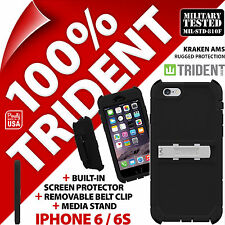 NUOVO Trident Kraken AMS robusta CUSTODIA PROTEZIONE COVER RIGIDA PER APPLE IPHONE 6 / 6S