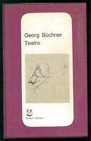 BUCHNER GEORG TEATRO ADELPHI 1966 NUMERI ROSSI 4 LETTERATURA TEDESCA