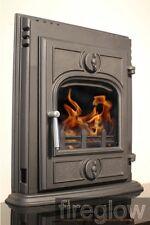 "4.5kW Multifuel / Woodburning ""Fireglow INSET 450"" Cast Iron Cassette Stove"