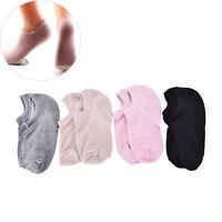 1Pair Silicone Moisturizing Gel Heel Socks Cracked Foot Skin Care Protectors Wv