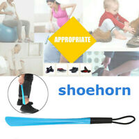 46cm Long Handle Shoehorn Shoe Horn Lifter Disability Aid Flexible Stick US ❤