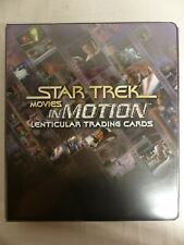 Star Trek the movies In Motion 2008 Base set binder Portraits Quotables Promos