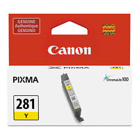 Canon 2090C001 (CLI-281) ChromaLIfe100+ Ink, 259 Page-Yield, Yellow