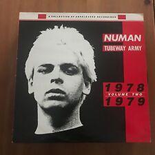 GARY NUMAN / TUBEWAY ARMY - 1978-1979 VOLUME 2 - MAXISINGLE BEGGARS BANQUET UK