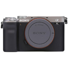 Sony Alpha a7C Mirrorless 24.2MP 4K Digital Camera Body Silver - ILCE7C/S