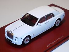 1/43 True Scale TSM 2009 Rolls Royce Phantom in White TSM114324