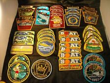 103  PA Pennsylvania fish commission Patch PLAY others