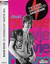 David Bowie The Gospel According To David Bowie CASSETTE ALBUM POP ROCK