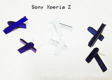 Sony Xperia Z L36h C6603 Headphone, USB, SD, SIM Card Cover Flap (Purple)
