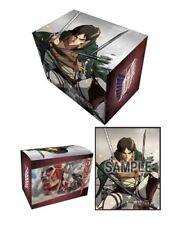 Anime Deck Box Case - Attack on Titan Eren Yugioh Cardfight Girl Yaeger