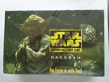 Star Wars CCG Dagobah Limited Booster Box factory sealed with 60 sealed packs