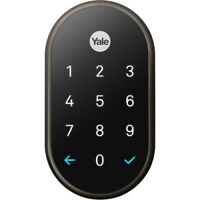 Nest x Yale Lock with Nest Connect - (Oil Rubbed Bronze)