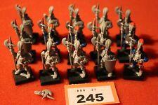 Warhammer Empire Imperial Men at Arms Regiment Army Halberdiers Job Lot 20 Figur