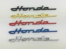 Honda  3D  Emblemset  gold 2 Stück