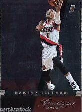 2014-15 Panini Prestige Plus #18 Damian Lillard (2015-0415)