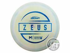 New Discraft McBeth Esp Zeus 167-169g Lt Lime Blue Foil Driver Golf Disc