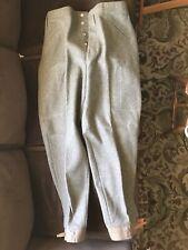 Vintage 1940's Swedish Army Wool Pants