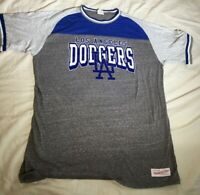 Los Angeles Dodgers MLB Baseball Mitchell And Ness Tee Shirt Size XL