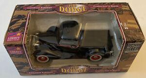 Liberty Classics 1936 Dodge Diecast Panel Truck Bank- NIB