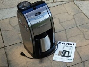 Cuisinart DGB-600BC Automatic Grind & Brew Thermal 10 Cup Coffee Maker - TESTED