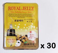 Korea Cosmeitcs 30pcs [Malie] Royal Jelly Ultra Hydrating Essence Mask Sheet 25g