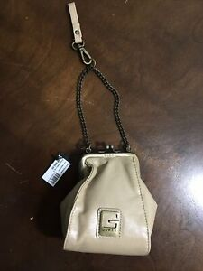 GUESS? U.S.A. - Genuine Leather tan CLUTCH, Wallet, Coin Purse  NWT