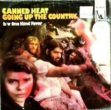 "7"" CANNED HEAT,  GOING UP THE COUNTRY, One kind favor"