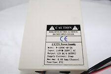 CCTV Power Supply Box w-12VDC-4P / 2 A PTC Fuse Type