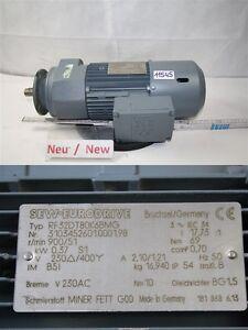 Sew 0,37 Kw 51 Min Gear Motor RF32DT80K6BMG Gearbox