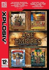 Age Of Empires Collectors Edition (PC CD ROM) Used Installed & Tested