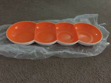 BRAND NEW Tupperware Alegra Divided Server tray and bowl with lid