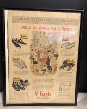 Keds shoes  U.S. Rubber Co. original vintage print ad