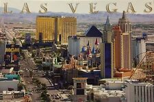 Las Vegas Strip Casino Nevada 100 Postcards Day Scene