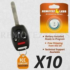2 Pack FikeyPro Keyless Entry Remote Control Car Key Fob fits Honda Accord 2008 2009 2010 2011 2012 KR55WK49308