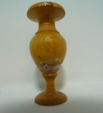 Vintage 4 Inch Tall Wood Pedestal Display Eggs Other Miniature Items GAMA