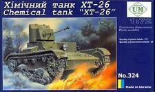 UM-MT Models 1/72 Soviet XT-26 CHEMICAL TANK