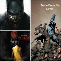 DCEASED #1 VARIANT BATMAN 5/1/19 HORROR IT 3-PACK DC COMICS 1ST PRINT
