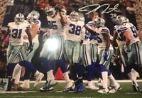 Jeff Heath #38 Dallas Cowboys Autographed 8x10 Photo Gdst Hologram A