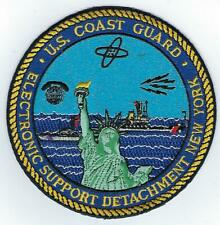 USCG Electronic Support Detachment, New York  (US Coast Guard Patch)