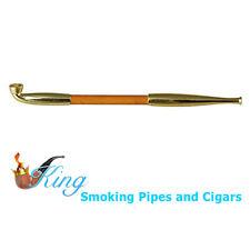 TSUGE Marufuku Gold Long Japanese Kiseru Smoking Pipe NEW