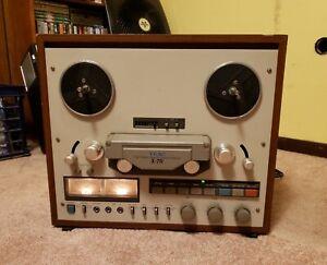 teac x-7r reel to reel tape player