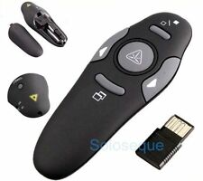 PENNINO LASER PRESENTATORE POWERPOINT Wireless USB Presenter Pointer: Penna <>