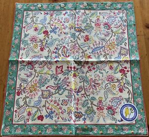 NEW April Cornell Pillow Cover 100% Cotton Floral Paisley INDIA