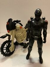 "G.I.JOE 12"" Snake Eyes retaliation 2011 Hasbro Cobra Dirt Bike ARAH"