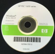 HP PSC 1600 Series Software Disk CD for Windows (98, Me, 2000, XP)