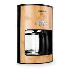 (Ricondizionato) Imperdibile Klarstein Bamboo Garden Macchina Per Caffè 1080W 1,