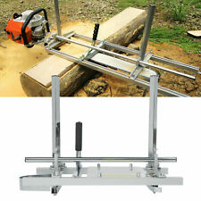 20 24 Aluminum Chainsaw Mill Portable Planking Milling Bar Accessory